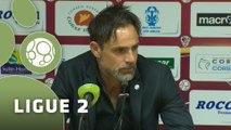 Conférence de presse AC Ajaccio - Tours FC (1-2) : Olivier PANTALONI (ACA) - Marco SIMONE (TOURS) - 2015/2016
