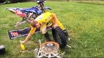 Changer son pneu avec bib mouss soi-même