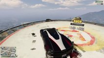 Grand Theft Auto V 3 Frontflips with the new car 'Pegassi Osiris'