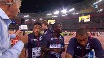 """Championnats du Monde d'Athlétisme : Les Bleus sixièmes du relais 4x100 - """"C'est frustrant"""""""
