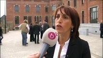 Faouzia Hariche : L'Athénée Marguerite Yourcenar à la place de l'école de la batellerie