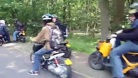 Honda Zoomer toerrit HONDA ZOOMER meet & ride