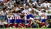 Cristiano Ronaldo Punches vs Diego Godin Atletico Madrid vs Real Madrid 2014 Soccer Moment