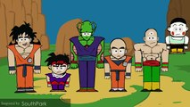 Dragon Ball Z   Animated in 33 different styles DBZ parody | dragon ball z games