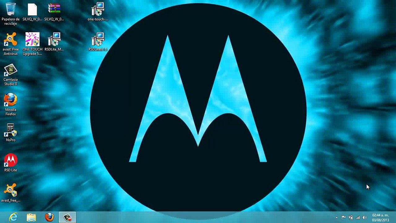 Flashear Motorola serie EX con RSD lite MTK Patch
