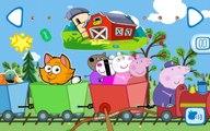 Peppa Pig  Children's train  Свинка Пеппа  Детский поезд  Developing a cartoon GAME