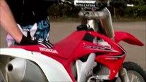 SKYFALL   Cascades moto HONDA CRF250R   CharlyMoto Racing