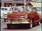 Historischer Werbefilm von DKW/ Auto-Union: F12 Roadster
