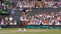 Serena Williams vs Venus Williams Wimbledon 2015 Highlights