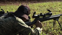 FUERZAS COMANDO 2015 -Poligono de 500 metros para Francotiradores-