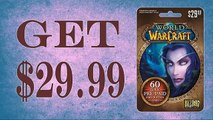 How to Redeem World of Warcraft 60-Day Subscription gift card generator $30 Proof updated in 2015