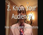 2 Secrets of great presentations - KNOW YOUR CONFERENCE AUDIENCE! Futurist Keynote speaker