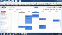 How to move all events from one Google calendar to another