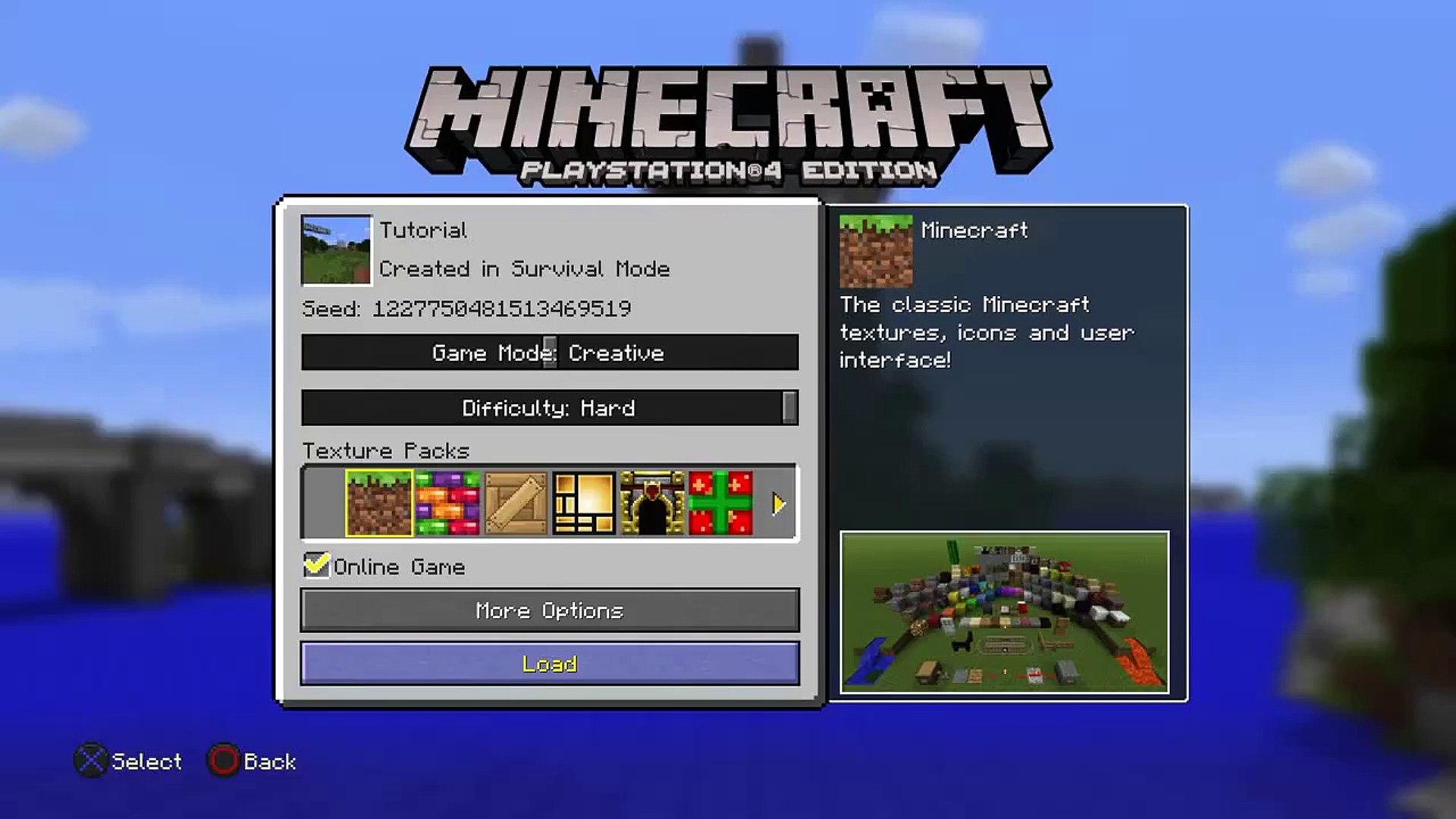 Top 10 Punto Medio Noticias | Minecraft Tutorial World Seed Ps4