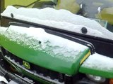 Very Cold start -22C in Finland, John Deere Gator XUV 850D