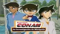 Detective Conan. Investigación en Mirápolis. Parte 1. La llegada al parque de mirapolis