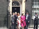 Prime Minister Tony Blair departs Downing Street