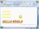 Ms Word 2007 Paragraph Tools Urdu/Hindi Tutorial