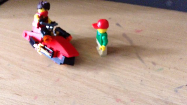 Lego Mini Figures Animation Ft: Moleman And Edna Krabbapel From The Simpsons!