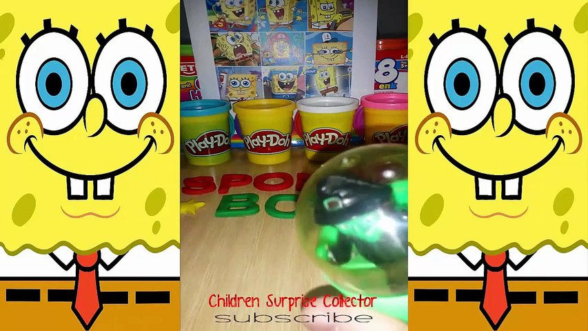 Play Doh Peppa Pig english episodes Frozen Shopkins Kinder Surprise Eggs Spongebob Tom and Jerry