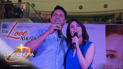 CharDawn's kilig moments during 'Thinking Out Loud' performance at 'The Love Affair' mall show