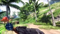 """Farcry 3 Playthrough Part 12 """"Don't fight bears, using just a knife"""""""