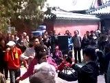 chinese people dancing and having fun JACKASS
