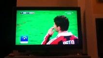 Infortunio di Bertolacci Milan-Genoa
