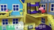 Peppa Pig en français. Peppa Pig joue avec George à cache cache