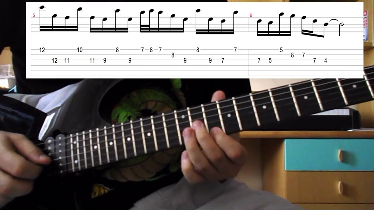 3 Ionian Licks – Guitar lesson with tabs