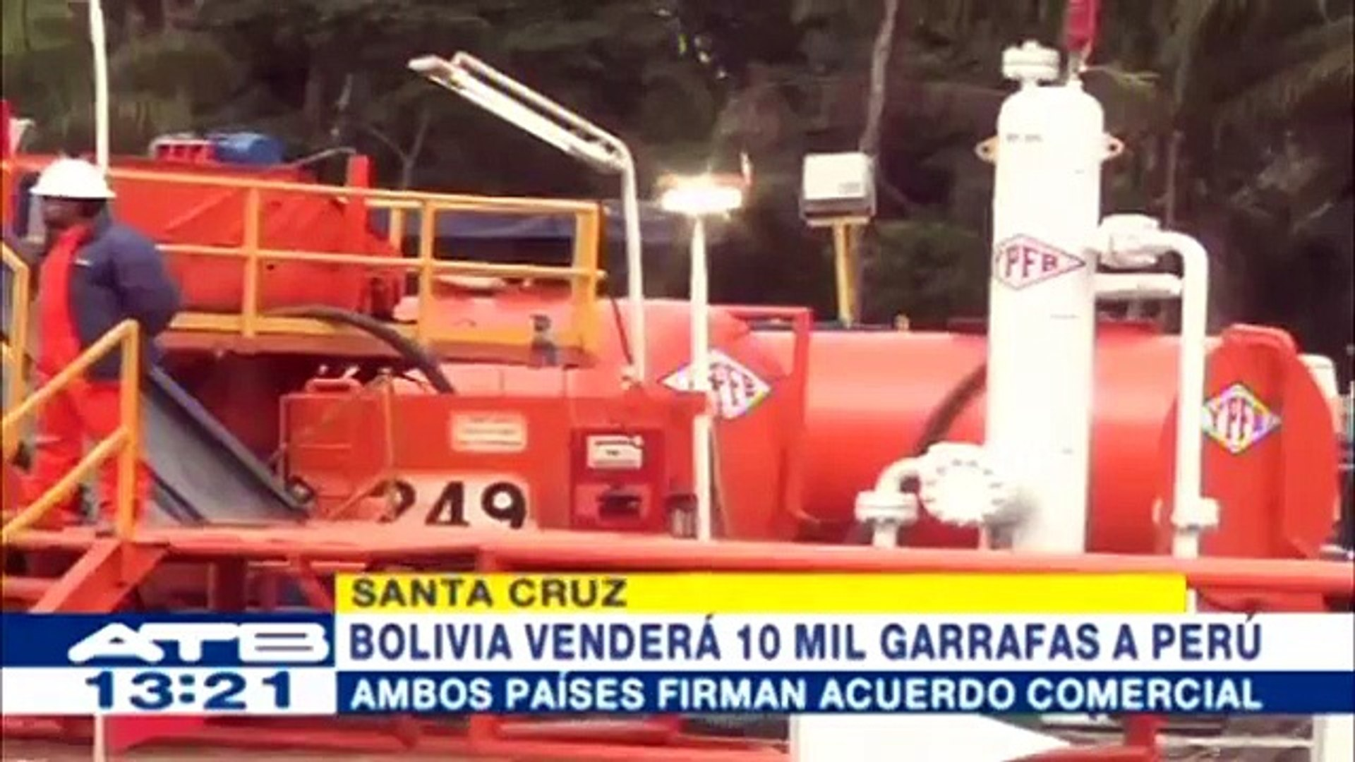 Bolivia venderá 10 mil garrafas de GLP a Perú