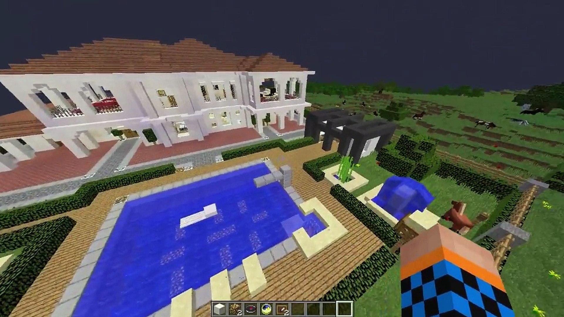 Minecraft Mansion Tours Episode 1 Video Dailymotion