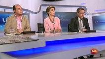 Alberto Garzón le espeta a Ana Pastor que el PSOE es un partido de derecha. Los desayunos de TVE