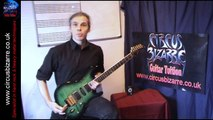 """Beginner Guitar Lesson """"Guitar Playing Position"""" (by Circus Bizarre Guitar Tuition)"""