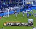 Visión 7: Torneo Inicial: Vélez goleó a Rafaela 4 a 1