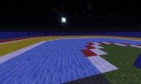 Mario Kart In Minecraft - WII U Mario Kart Stadium