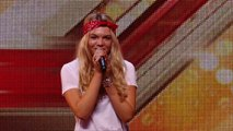 Soul singer Louisa Johnson covers Who's Loving You   Auditions Week 1   The X Factor UK 2015