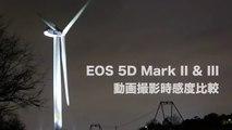 Canon 5D Mark III Vs II at ISO 12800