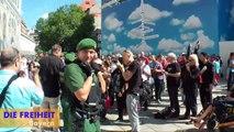 FREIHEIT-Kundgebung München Teil 1: Der Geist von Al-Qaida am Münchner Stachus