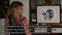 Eleonora Prado a Spazio Tadini per il Cabaret degli Artisti di Milano