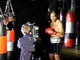 LIVE Dreh ARD MDR WBA World Box Champion Nikolai Valuev Box 1  FCN  galacom tv filmbike Mr Win More