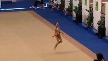 Nerea Sanchez  -  Campeonato de España de Gimnasia Ritmica individual 2009