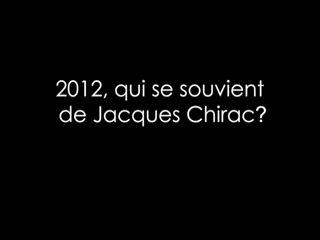 La cassette Chirac