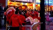 Danse des dragons. Nouvel an chinois 2013. Paris 13ième