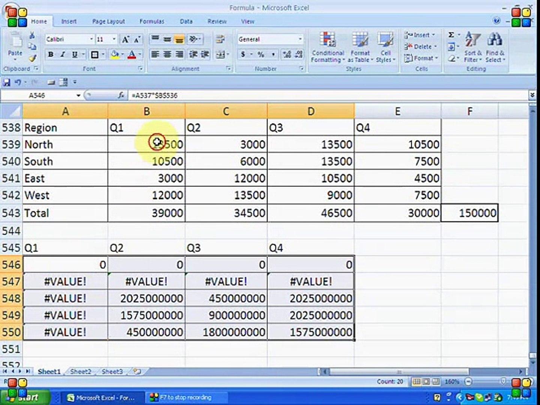 How to make chart in Ms Excel Formulas Urdu/Hindi Tutorials   Part 20