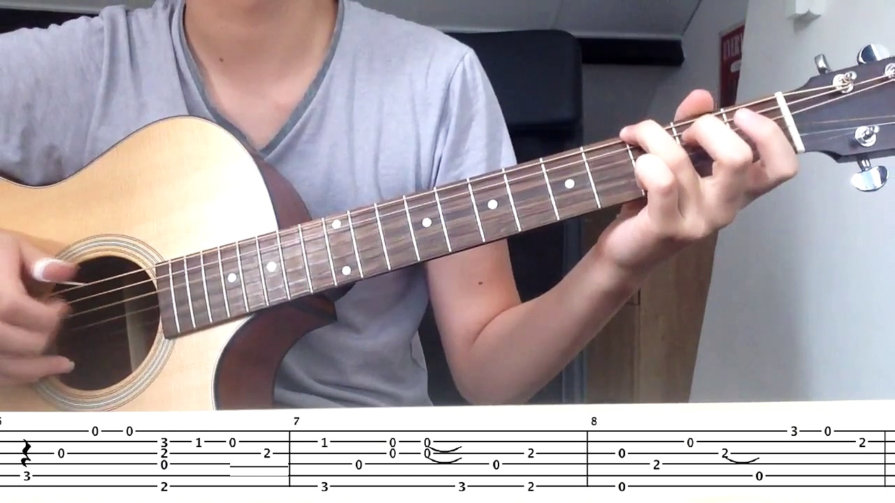 (Beatles) Yesterday Guitar Tab