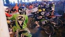 Moto cross en nocturne Isbergues
