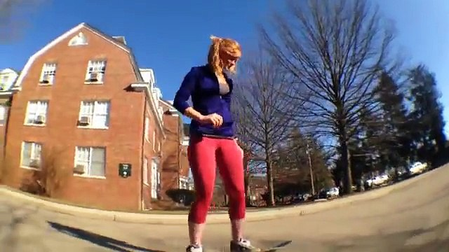 Every skater's dream girl - Heather Jo Lind + bonus clips