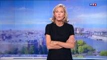 Claire Chazal tease le nouveau plateau du JT de TF1