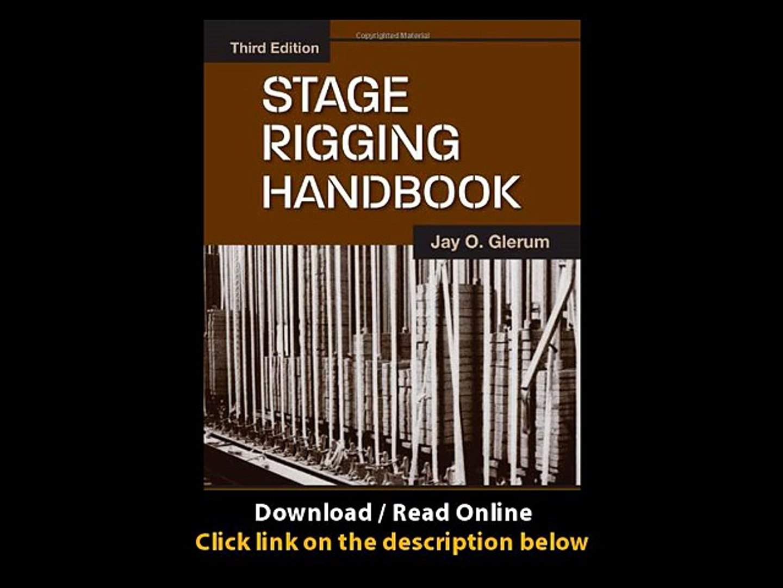 Stage Rigging Handbook Third Edition